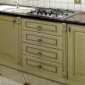 Kuchnia drewno - Jesion patyna